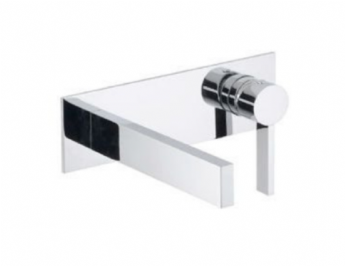 Bagno Design Metreaux, Wall Mounted,  Concealed Basin Mixer - (BDM-MET-305-CP), In Chrome